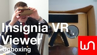 Insignia VR Viewer Unboxing