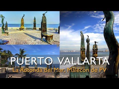 Conoce La Rotonda del Mar en el Malecón de Puerto Vallarta - Alejandro Colunga (1996)