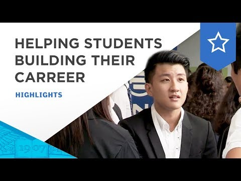 Career Fair : 300 students meet and engage with companies at ESSEC Asia-Pacific