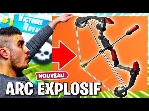 """nouvelle-arme-""""l'-arc-explosif""""-fortnite-battle-royale-[fr/ps4/live]"""