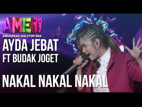 Anugerah MeleTOP ERA 2017: Persembahan Ayda Jebat - Nakal Nakal Nakal