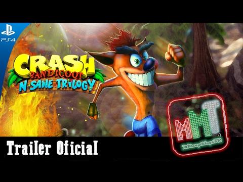 Crash Bandicoot N  Sane Trilogy - Trailer Oficial PS4