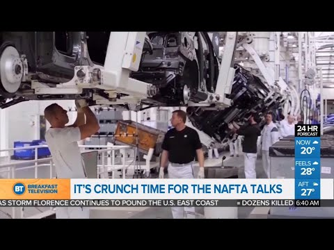 It's crunch time for NAFTA talks