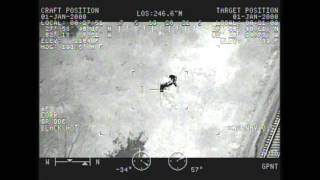 Aviation Finds Fugitive In The Dark