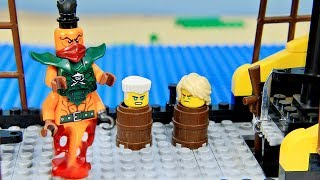Lego PIRATES NinjaGo vs Nadakhan Episode2