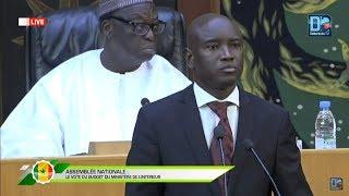 [LIVE ] Suivez le vote du budget du ministère de l'intérieur à Assemblée Nationale