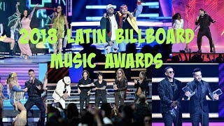 2018 Latin Music Billboard Music Awards (Daddy Yankee, Bad Bunny, J Balvin, JLo, Cardi B and More)