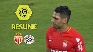 AS Monaco - Montpellier Hérault SC (1-1)  - Résumé - (ASM - MHSC) / 2017-18