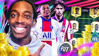 STARTING MY FIFA 21 ULTIMATE TEAM! A MANNY ROAD TO GLORY?!?!