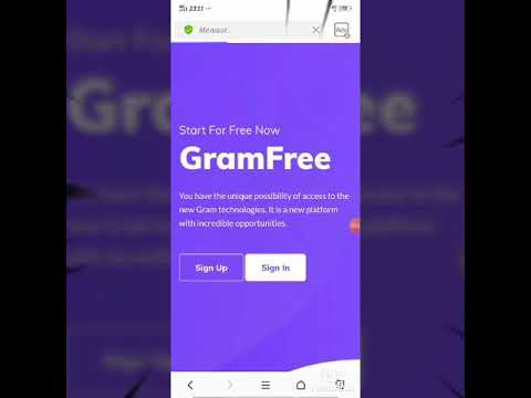 Tutorial Buat Akun Di Gramfree 100 Legit No Scam Youtube
