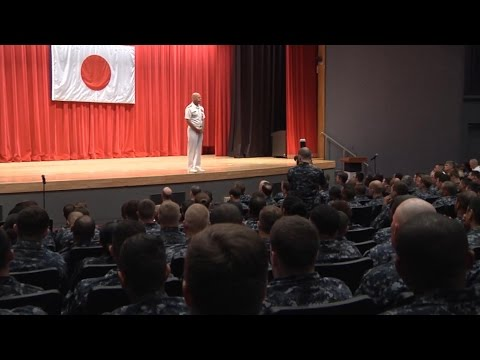 Admiral Scott Swift Visits Japan