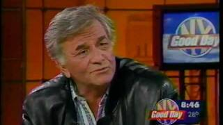 PETER FALK faces COLUMBO impersonator - GDNY classic