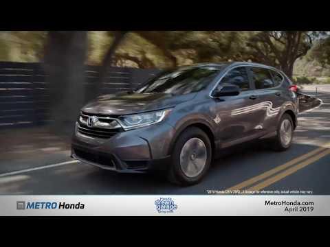 2019 Honda CR-V - Lease Special