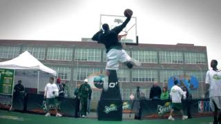 Guy Dupuy Shuts Down Sprite Contest; CRAZY Dunks + Unseen Footage Video