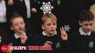 22 Sleeps Til Santa - Weeth School