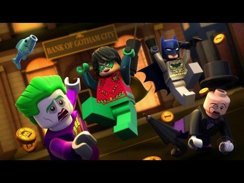 LEGO Liga da Justiça   Fuga em Massa em Gotham City - filmes de ação - filmes de animação