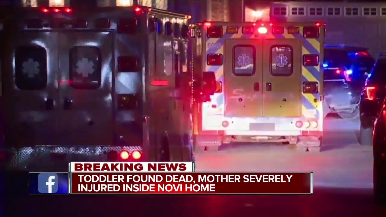 Woman found injured, toddler dead in Novi home