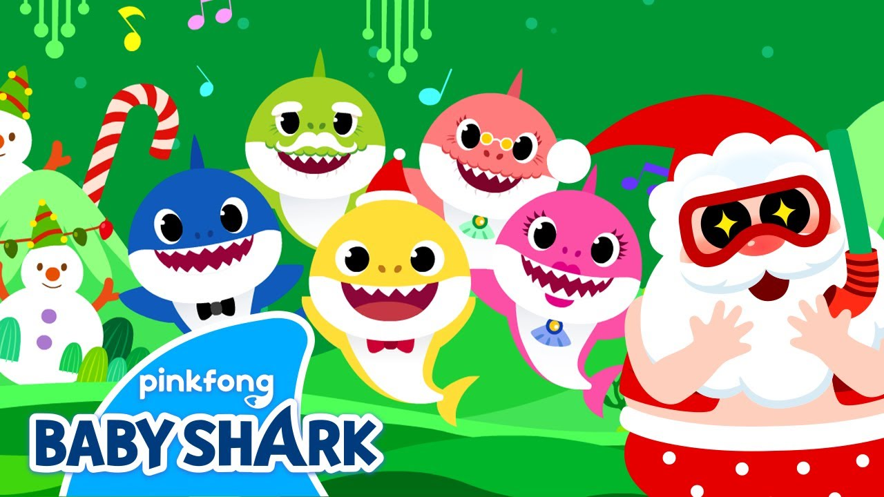 Cantata with Christmas Sharks!🎶 | Christmas Songs 1+1 | Holiday Special | Baby Shark Official
