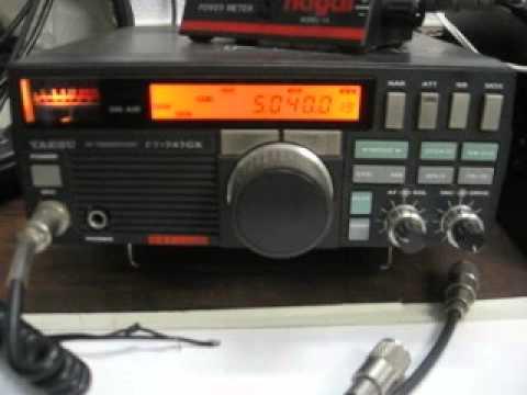 RECEPCIÓN DE RADIO HABANA-CUBA