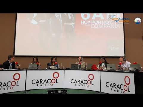 Gestión de Aeropuertos de Oriente en Santa Marta es resaltada en Caracol Radio