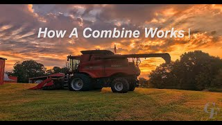 How a Combine Works: A view inside the combine [4k video]