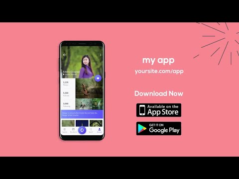 Android Mobile App Promotion After Effects Templates