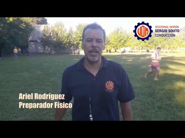Entrenamiento físico y fútbol recreativo 2021