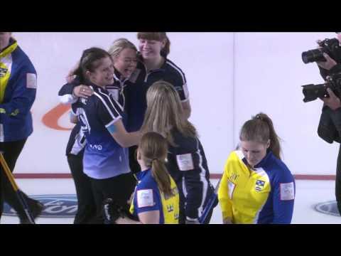 CURLING: WWCC 2013 Final SWE vs SCO - HIGHLIGHTS