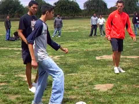 2007 Fresno Fuego visits El Monte Middle School in Orosi,  CA