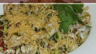 Bhel Puri (Chaat) Indian Snacks Recipe by Manjula