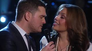 Michael Bublé Duet With Thalia - Mis Deseos/Feliz Navidad - Live From NBC New York