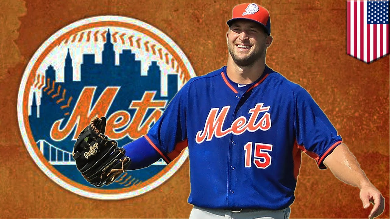 sports shoes 79f89 2715b Tim Tebow baseball: Tebowmania hits Mets instructional league camp, and  sells jerseys