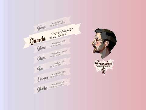 """Guarda"", Serie Proverbios por Greg Travis"