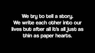 Paper Hearts by Silver Trees & Bailey Jehl [Lyrics]