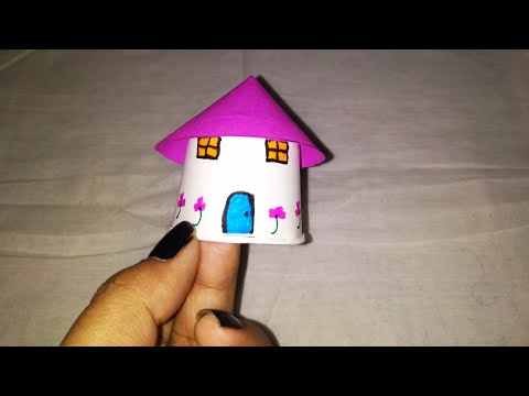 Best out of waste#Paper tea cup House craft ideas#house with tea cups#6