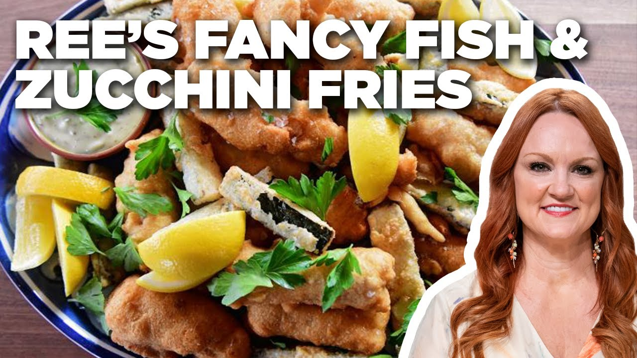 Ree Drummond's Fancy Fish and Zucchini Fries   The Pioneer Woman   Food Network