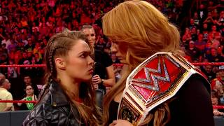 Nia Jax battles Ronda Rousey for the Raw Women's Title at WWE Money in the Bank tonight