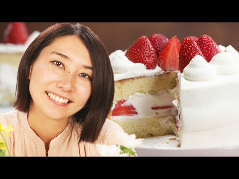 How Rie Makes A Strawberry Shortcake • Tasty