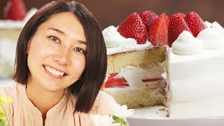 How Rie Makes A Strawberry Shortcake  Tasty
