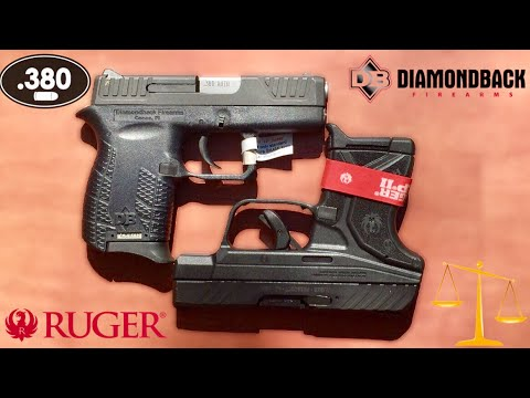 Ruger Lcp2 Vs Diamondback Db380 Ruger Diamondback Youtube