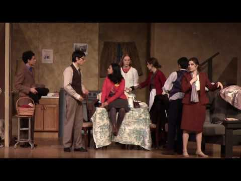 The Bronx Science Drama Department Presents: The Diary of Anne Frank – Part One
