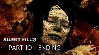 Silent hill 3 - final boss the god / normal ending - walkthrough part 10 (hard)