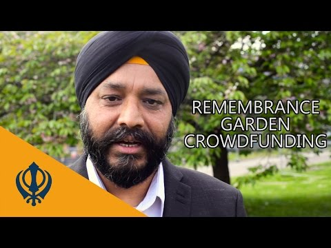 Sikh Garden of Remembrance crowdfunding video