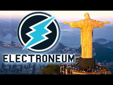 Electroneum BRASIL FIAT PAIRING Big News For #ETN $1 #Electroneum Bullrun