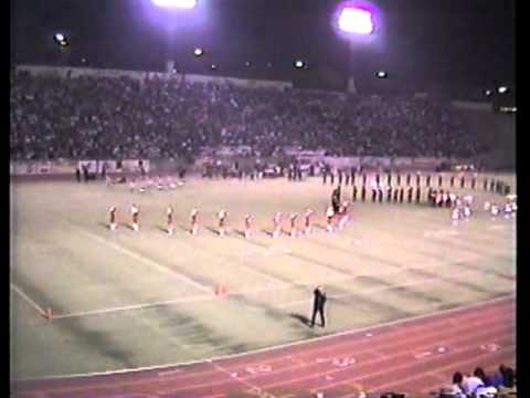 Roosevelt High School Band at the East Los Angeles Classic, 11/3/1989