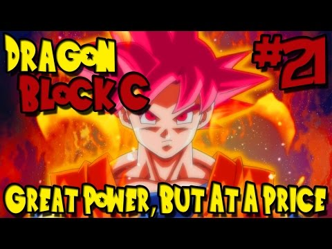 Minecraft: Dragon Ball Z Mod! (Dragon Block C) - Episode 21 - Great Power, But At a Price