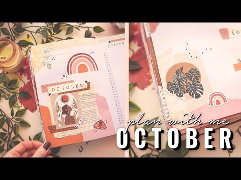 SPIRITUAL WOMAN ✨ BULLET JOURNAL THEME 🌹 OCTOBER 2020    TristArtist