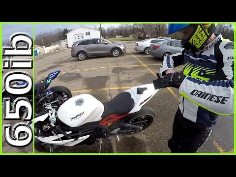 He Rode My Triumph Daytona R & BOUGHT ONE!