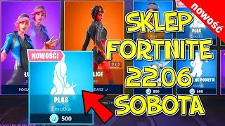 FORTNITE STORE 22.06-NEW BRILLIANT EMOTES Plôs, Malice, Luna, Core, Swawolne Podrygi, Flash