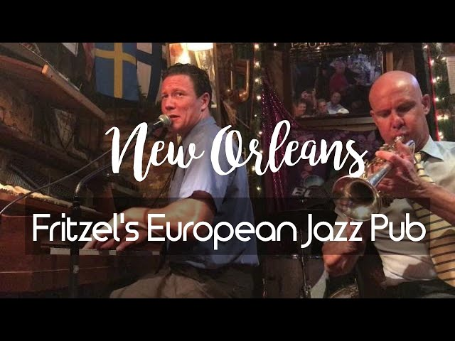 Cozy New Orleans Jazz Club - Fritzel's European Jazz Pub